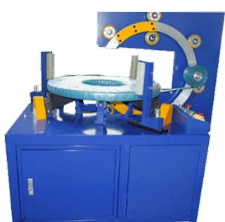 Bearing wrapping machine