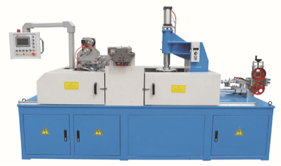 Cable coiling and wrapping machine