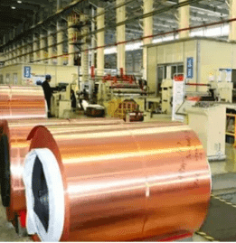 Copper foil coil wrapping and packing