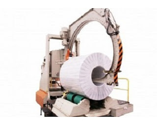 Master coil stretch wrapping machine