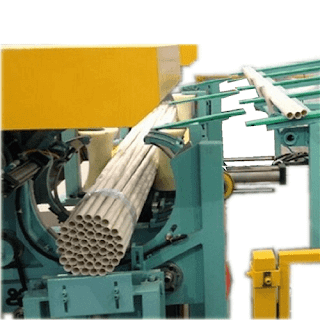 Auto Online Pipe Bundling And Strapping Packing Machine
