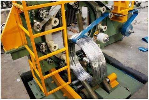 steel wire coil and roll wrapping machine