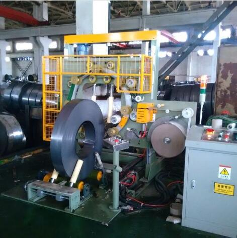 Stainless steel wrapping and packaging machine