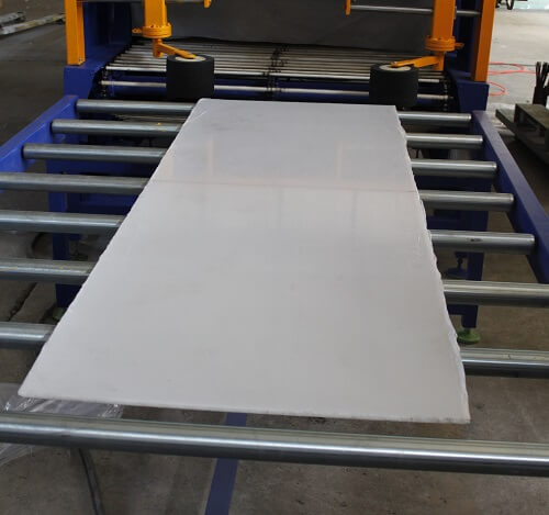 Get your panels packaged by shrink wrapping machine