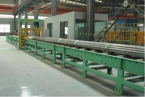 Aluminium extrusion packaging machine