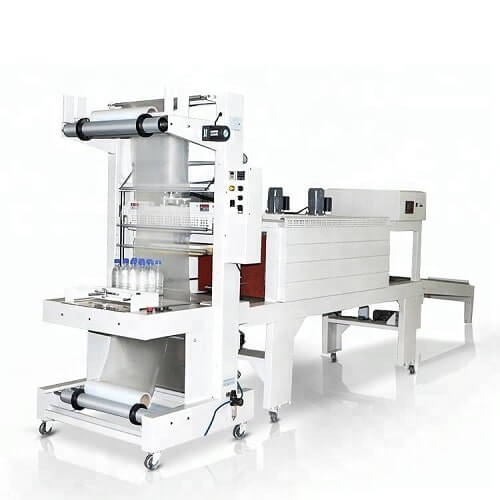 Sleeve shrink packaging equipment in stock for beverage mineral water package