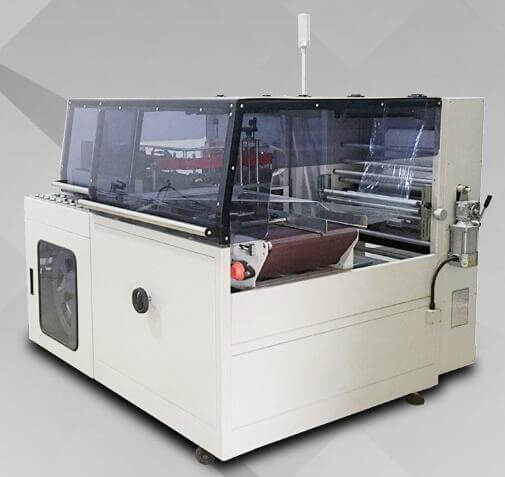 Heat shrink packaging machine application case