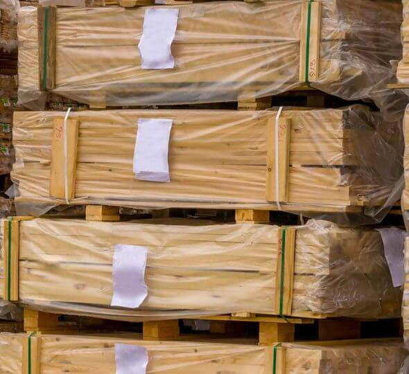 timber products wrapping packaging