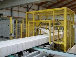 wood bundle wrapping machine