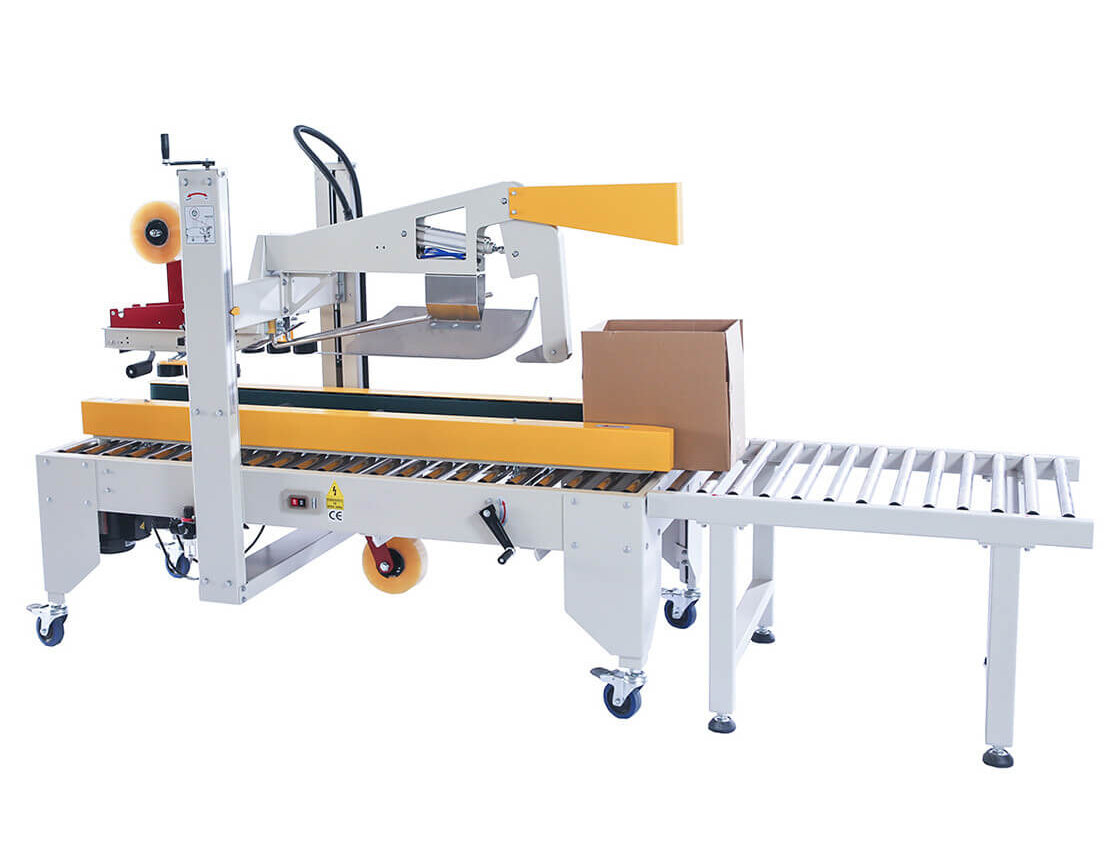 Several problems of the carton folding and sealing machine at work