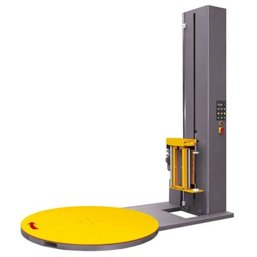 Safety instructions for the use of pallet stretch wrapping machine