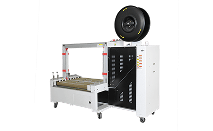 Different types of semi-automatic baler machine designed for carton strapping